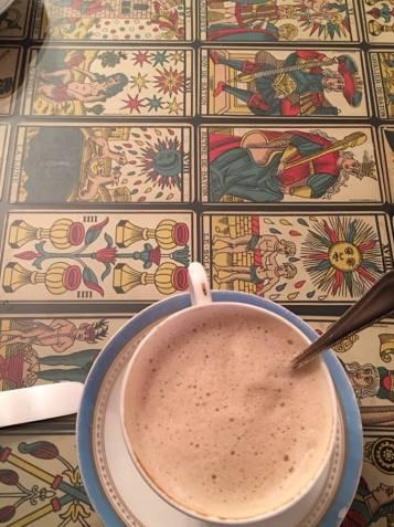 café con tarot